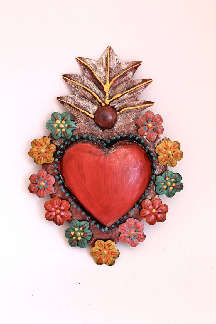 25+ Unique Mexican Wall Art Ideas On Pinterest | Arte Mexicano In 2017 Mexican Metal Wall Art (Gallery 9 of 30)