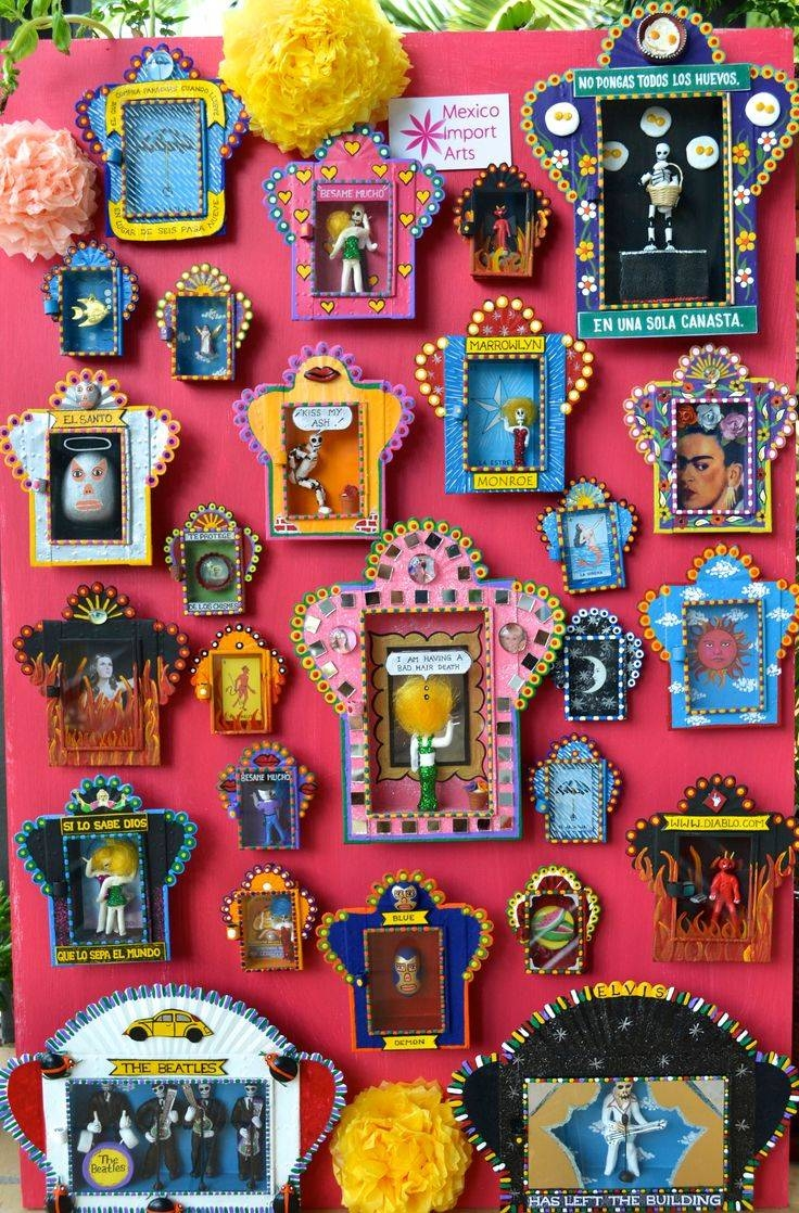 25+ Unique Mexican Wall Art Ideas On Pinterest | Arte Mexicano Regarding Latest Mexican Metal Yard Wall Art (View 5 of 30)