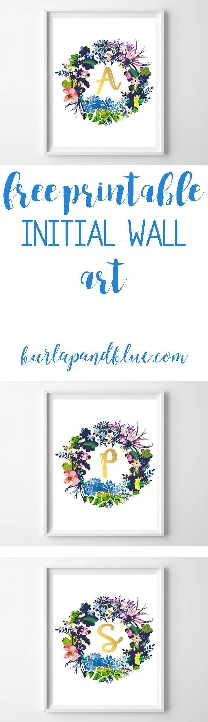 25+ Unique Monogram Wall Art Ideas On Pinterest | Monogram Wall Intended For Most Recently Released Framed Monogram Wall Art (View 4 of 20)