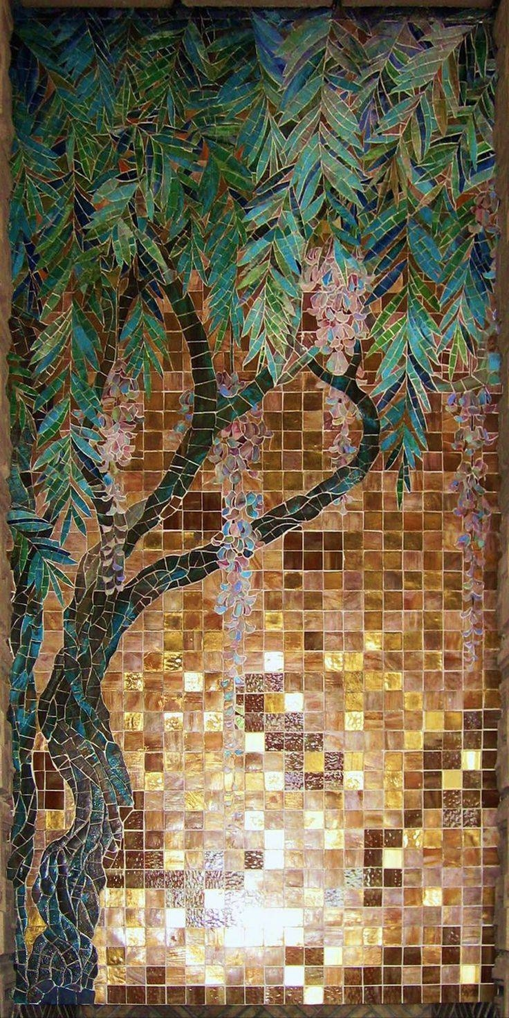 25+ Unique Mosaic Wall Art Ideas On Pinterest | Mosaic Art, Mosaic With Regard To 2017 Pixel Mosaic Wall Art (View 2 of 20)
