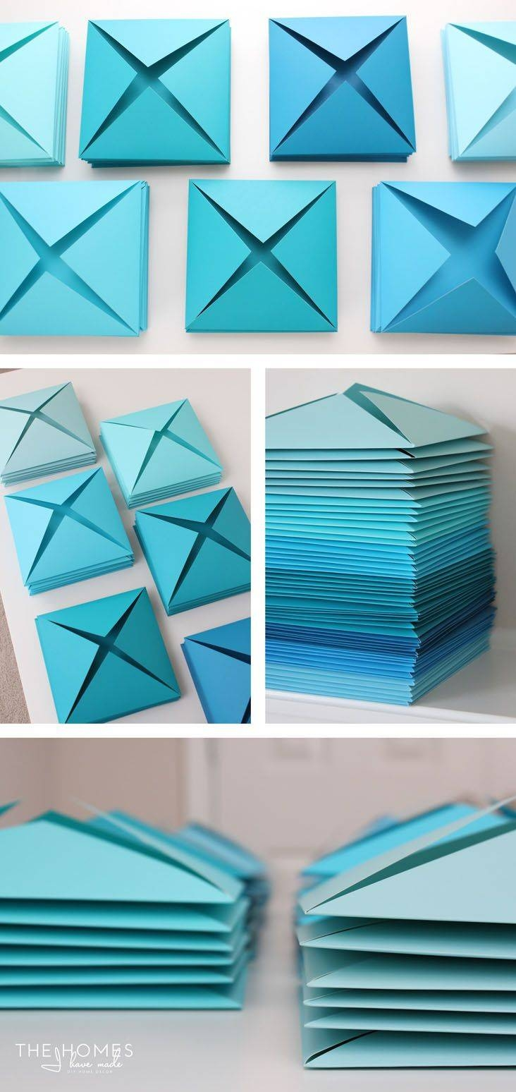 25+ Unique Paper Wall Art Ideas On Pinterest | Toilet Paper Roll Within Most Up To Date 3D Triangle Wall Art (View 4 of 20)
