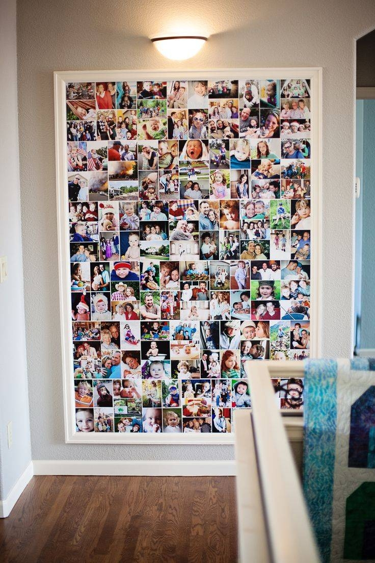 25 Unique Photo Collage Canvas Ideas On Pinterest With Regard To Most