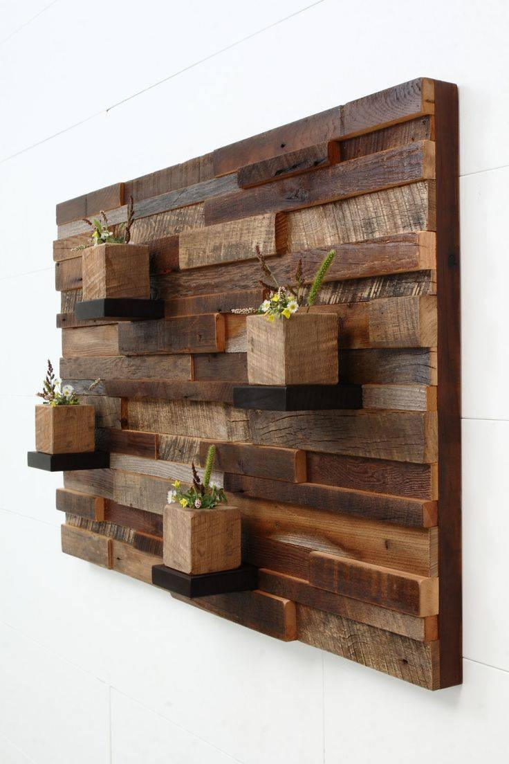 25+ Unique Reclaimed Wood Wall Art Ideas On Pinterest | Reclaimed In Most Popular Wood Wall Art (View 2 of 25)