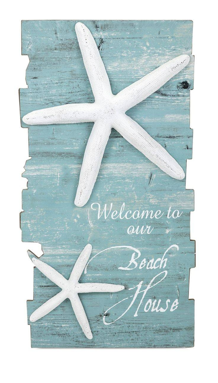 25+ Unique Starfish Decorations Ideas On Pinterest | Ocean Regarding Best And Newest Large Starfish Wall Decors (View 18 of 25)