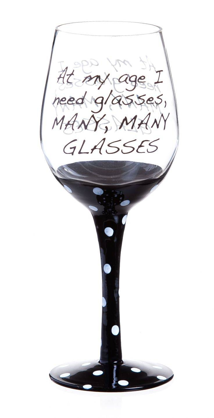 25+ Unique Wine Glass Sayings Ideas On Pinterest | Wine Sayings With Recent Martini Glass Wall Art (View 2 of 30)