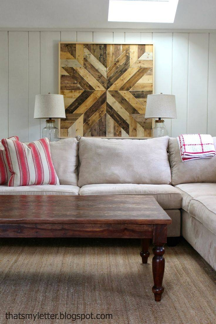 25+ Unique Wood Plank Art Ideas On Pinterest | Diy Signs With Regard To Most Up To Date Wall Art Decor For Family Room (View 12 of 20)