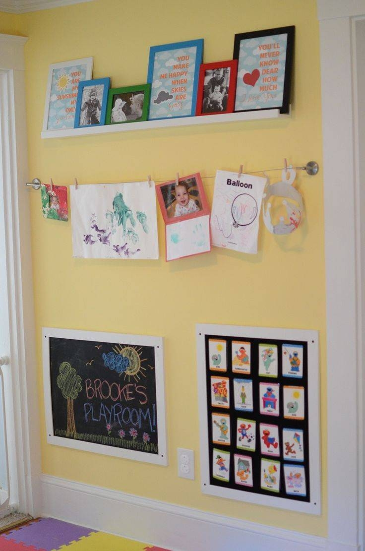 272 Best Playroom Ideas Images On Pinterest | Playroom Ideas For 2018 Wall Art For Playroom (Gallery 28 of 30)