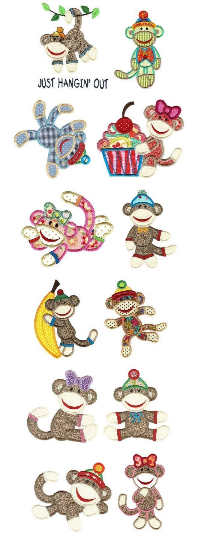 28 Best Sock Monkey Design Sets Images On Pinterest | Sock Monkeys Within Latest Sock Monkey Wall Art (View 13 of 30)