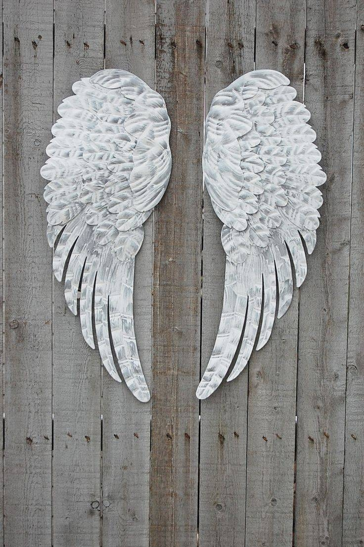285 Best Angel Wings Images On Pinterest | Angel Wings, Angel Art Inside Current Angel Wings Sculpture Plaque Wall Art (View 12 of 20)