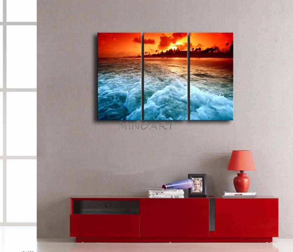 3 Piece Beach Wall Art – Wall Murals Ideas In Best And Newest 3 Piece Beach Wall Art (View 7 of 30)
