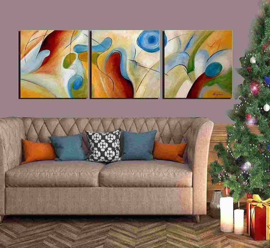 3 Piece Canvas Wall Art. Image Is Loading. Home Decor Wall Art With Most Popular Oversized Framed Wall Art (Gallery 15 of 20)