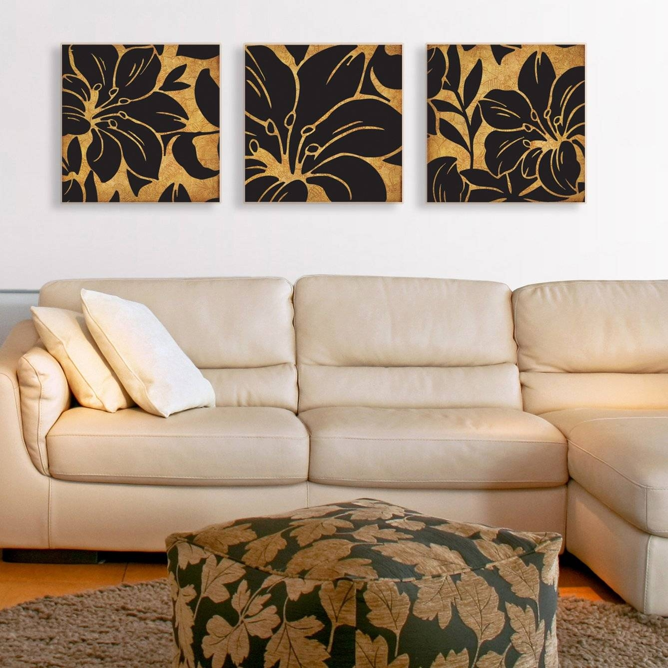 3 Piece Canvas Wall Art | Roselawnlutheran Inside Most Popular 3 Piece Floral Canvas Wall Art (View 4 of 20)