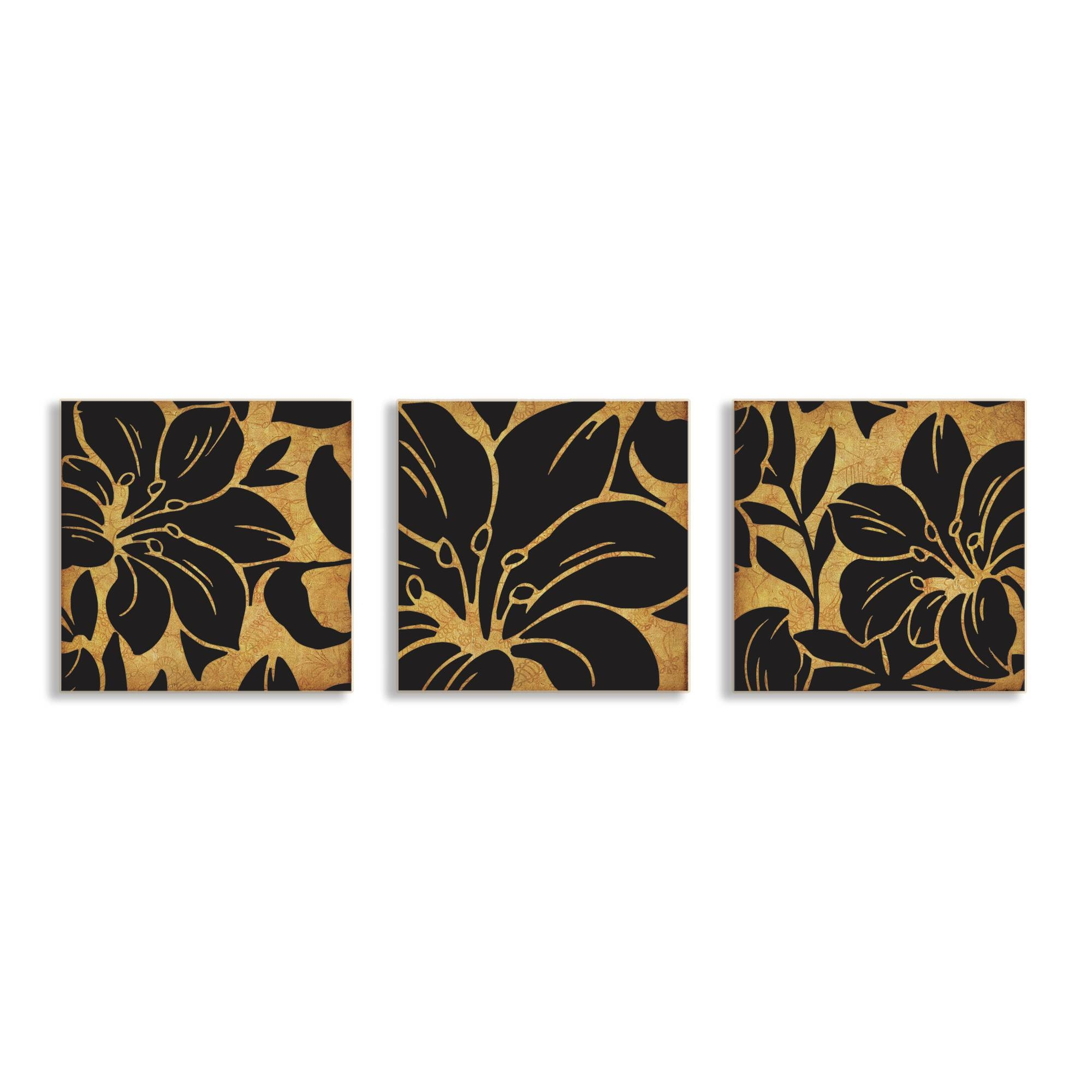 3 Piece Canvas Wall Art | Roselawnlutheran Pertaining To 2017 3 Piece Floral Canvas Wall Art (View 3 of 20)