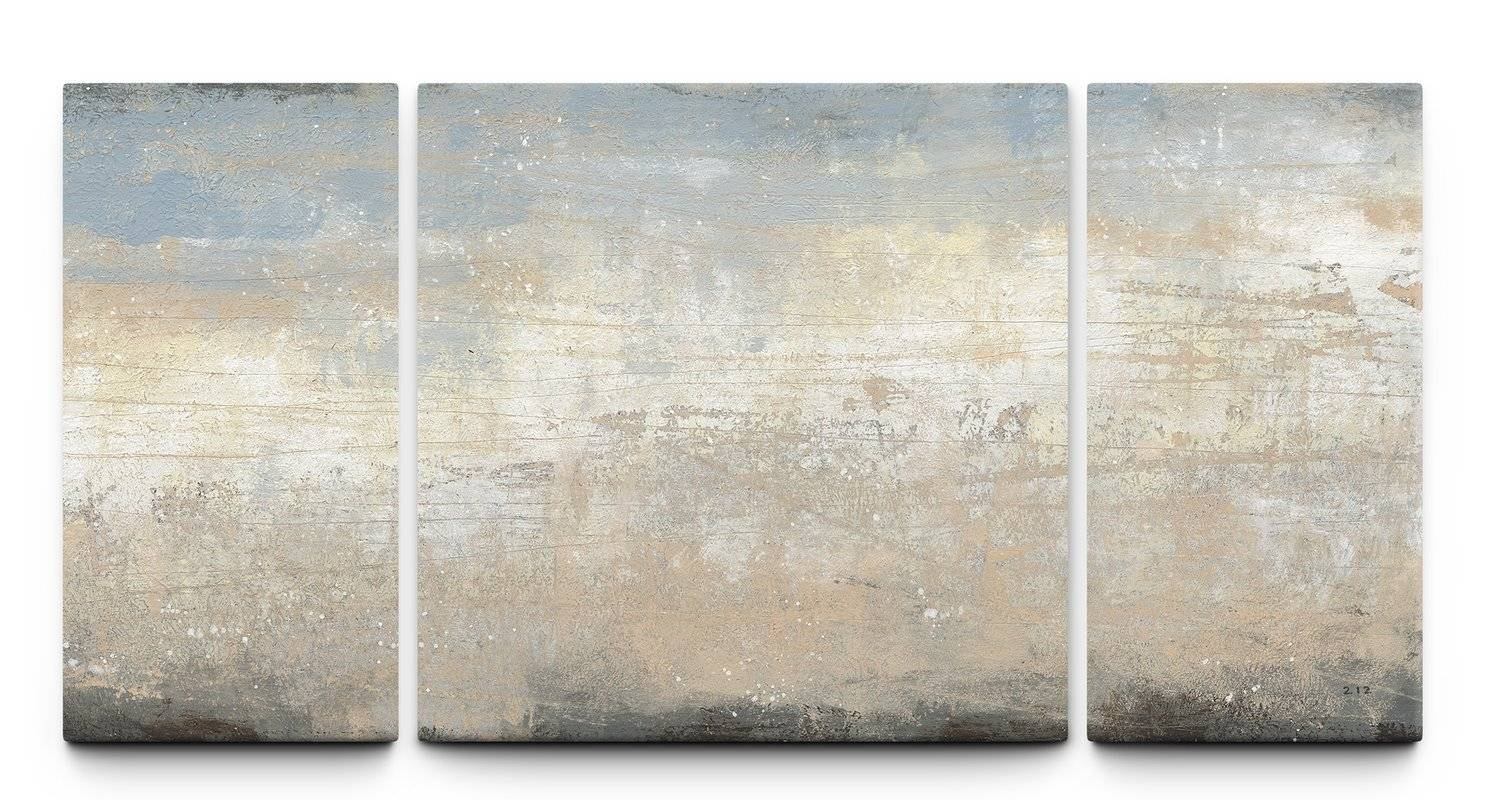 3 Piece Wall Art You'll Love | Wayfair Throughout Recent Canvas Wall Art 3 Piece Sets (View 17 of 20)