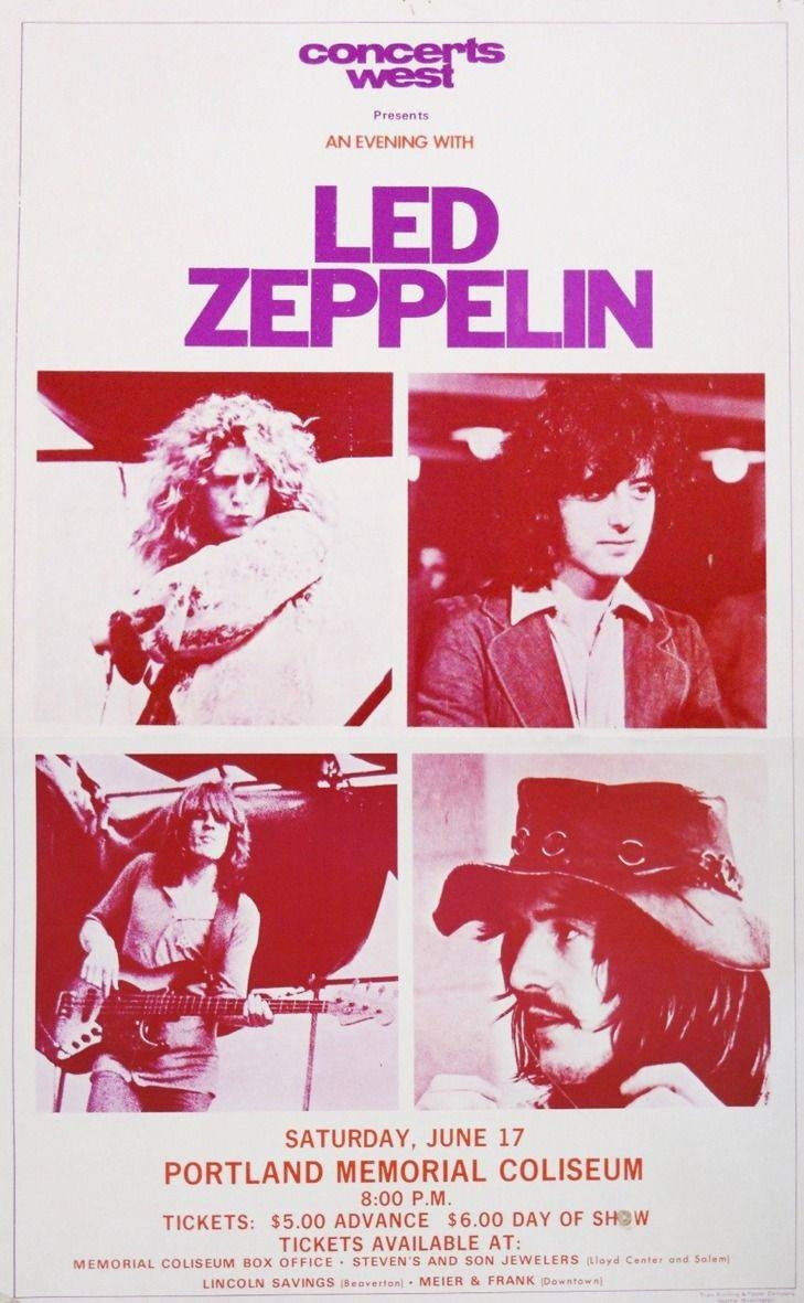 301 Best Led Zeppelin Images On Pinterest | Stairway, Led Zeppelin Inside Latest Led Zeppelin 3D Wall Art (View 14 of 20)