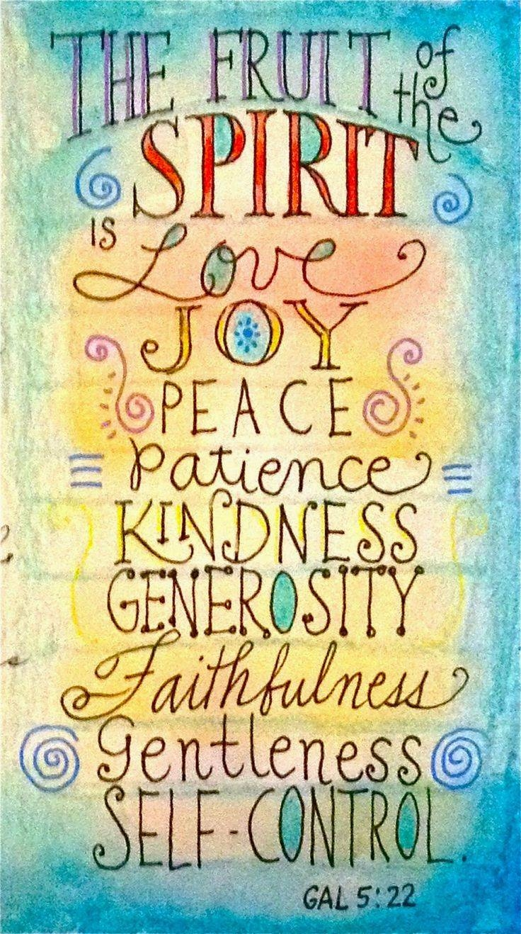 318 Best Fruit Of The Spirit Crafts Images On Pinterest | Fruit Of For Most Up To Date Fruit Of The Spirit Artwork (View 12 of 30)