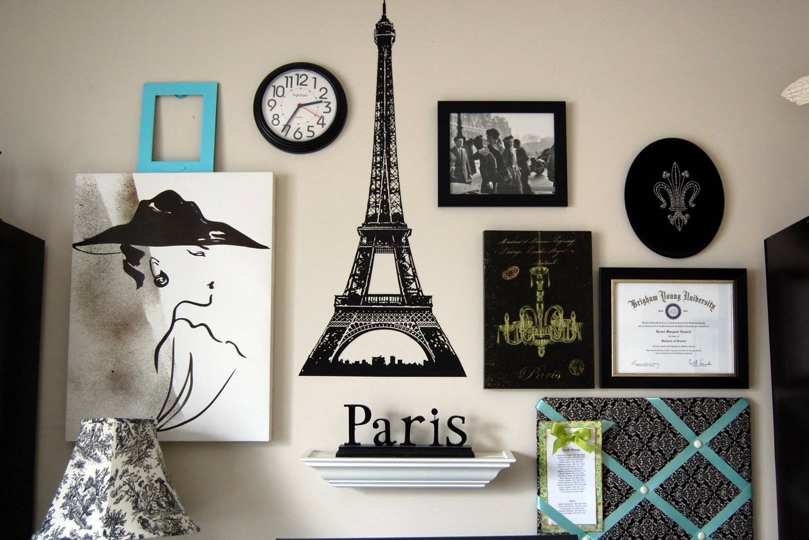 32 Creative Gallery Wall Ideas To Transform Any Room Intended For 2017 Paris Theme Wall Art (View 12 of 30)