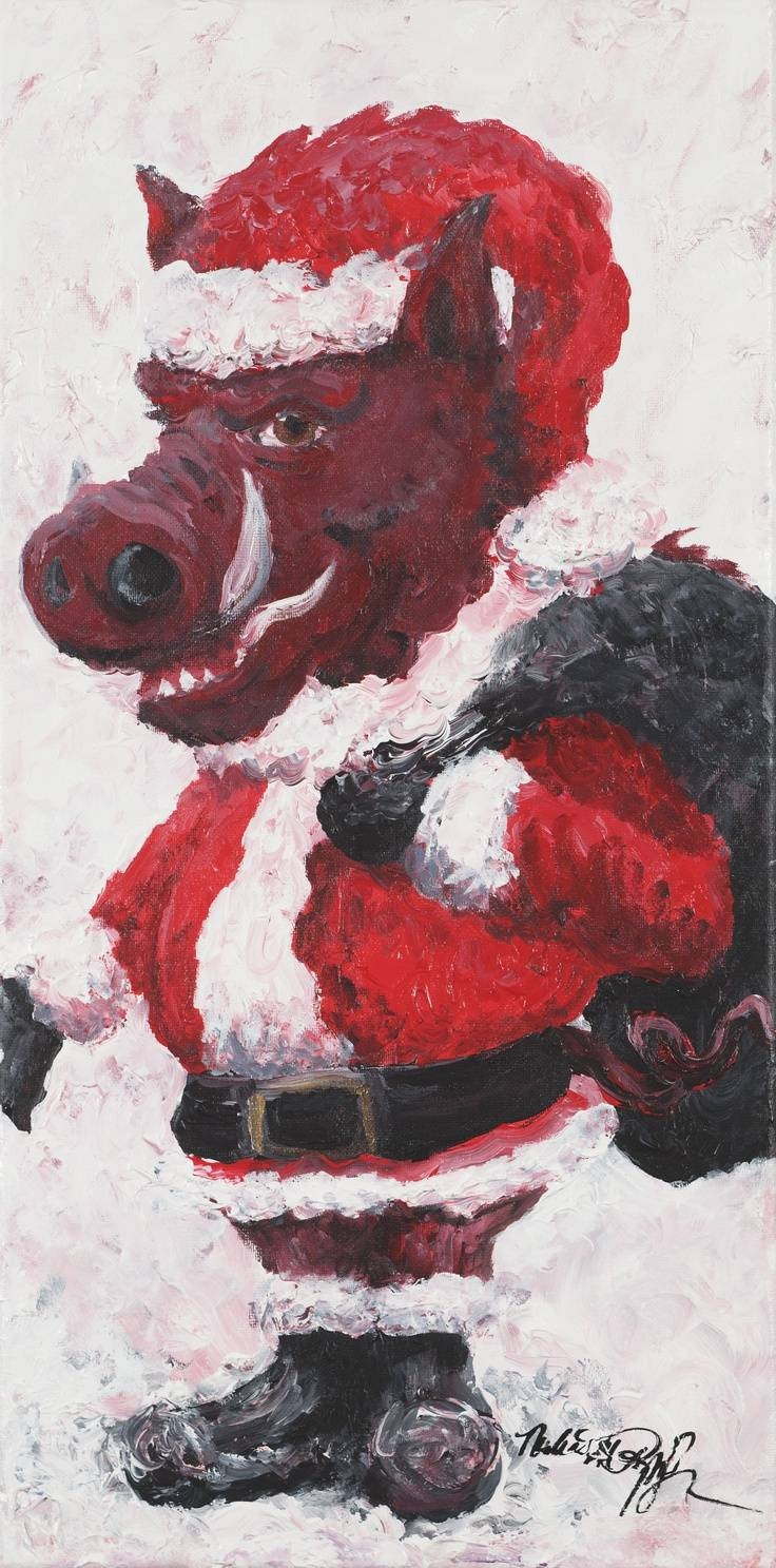 322 Best Ar & Razorbacks Images On Pinterest | Arkansas, Rogers Pertaining To Most Recent Razorback Wall Art (View 4 of 25)