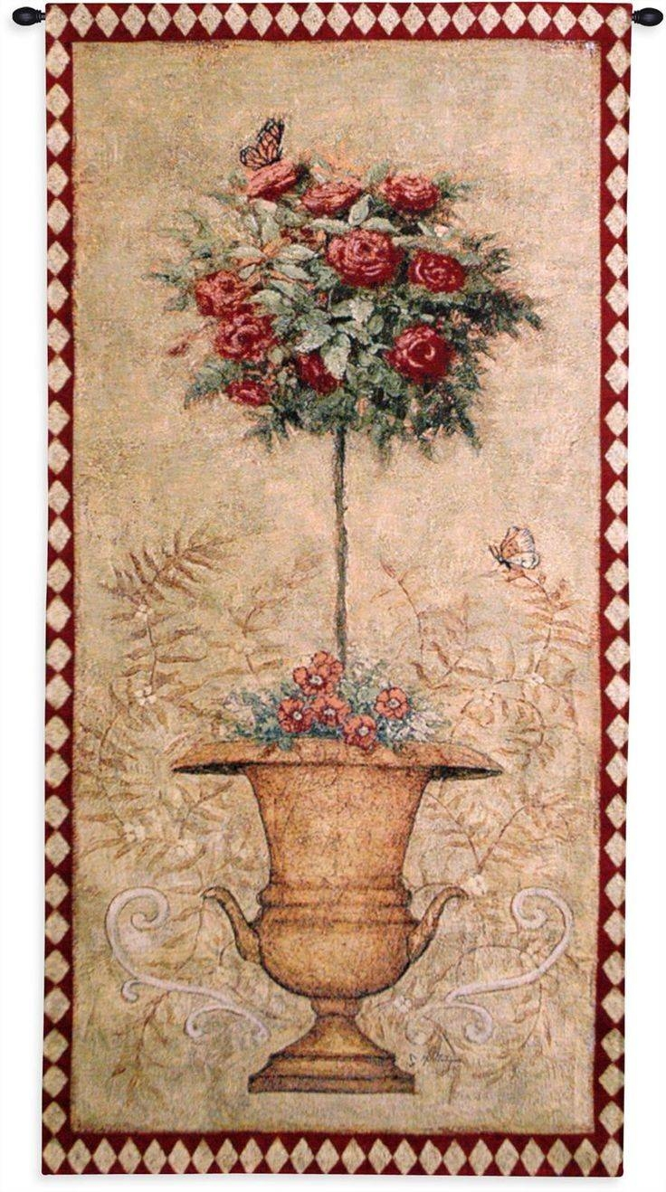 3368 Best Products Images On Pinterest | Wall Hangings, Tapestry Intended For Most Up To Date Topiary Wall Art (View 1 of 30)