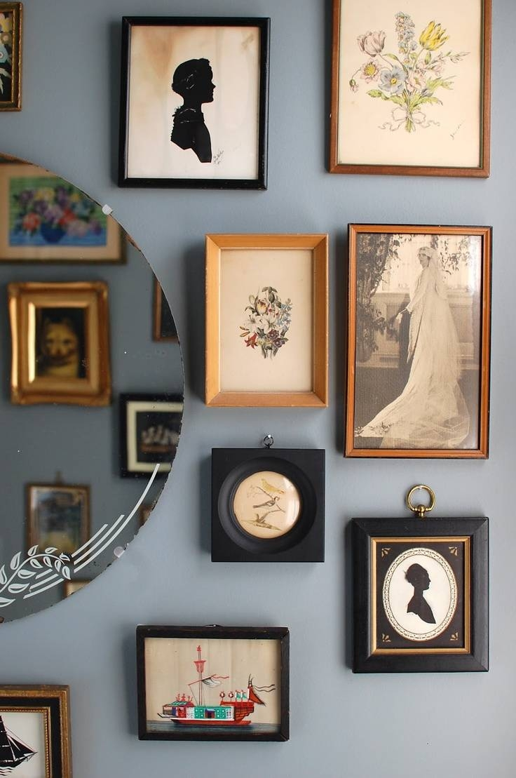 360 Best Vintage Decor Images On Pinterest | Vintage Decor With Regard To Most Recently Released Cameo Wall Art (View 1 of 20)