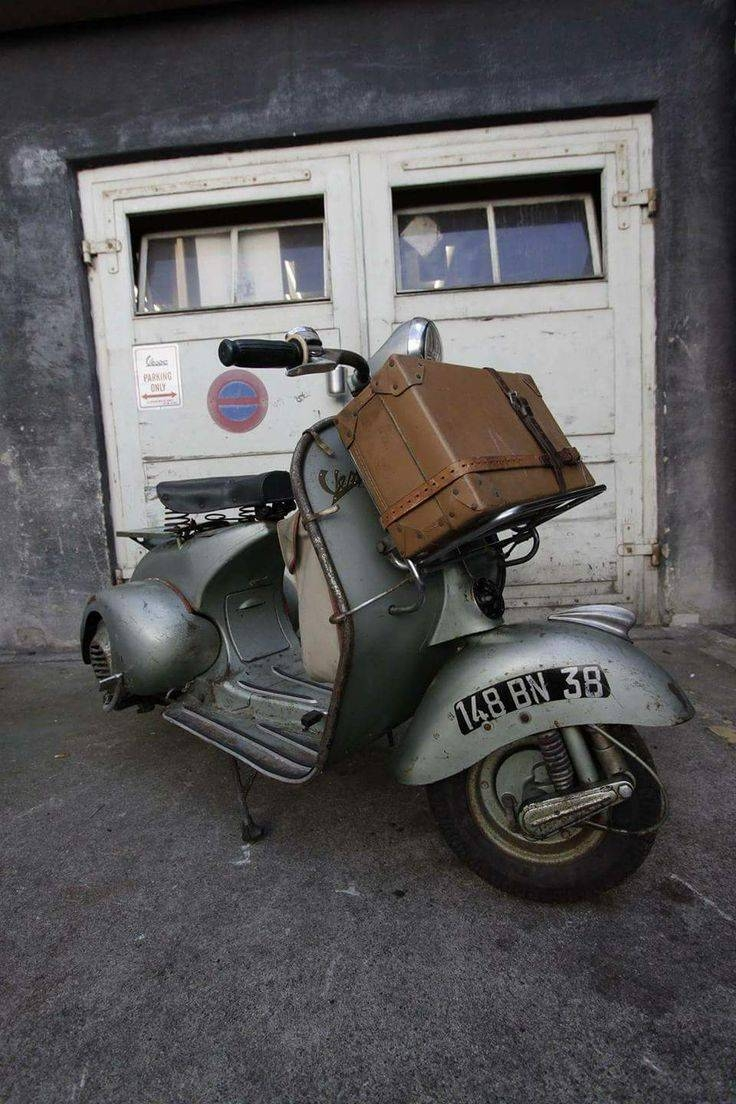 3776 Best Vespa! Images On Pinterest | Scooters, Motorcycles And within Best and Newest Vespa 3D Wall Art