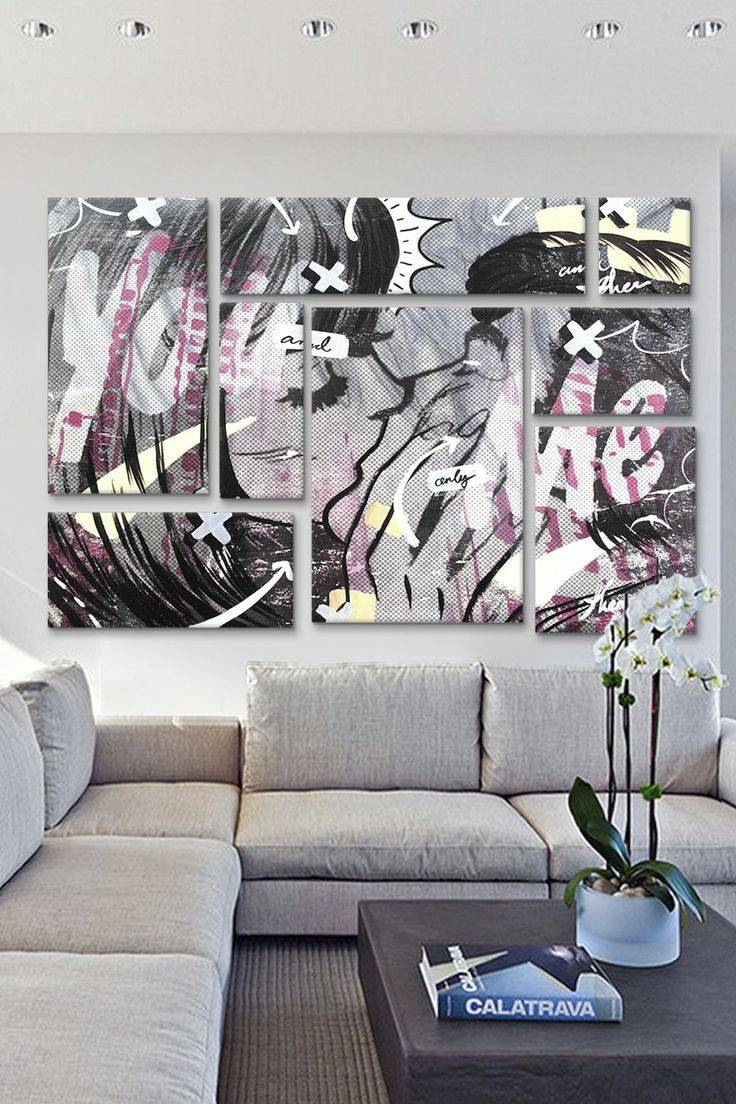 38 Best Pop Art Style Interiors Images On Pinterest | Pop Art Regarding Recent Pop Art Wallpaper For Walls (View 14 of 20)