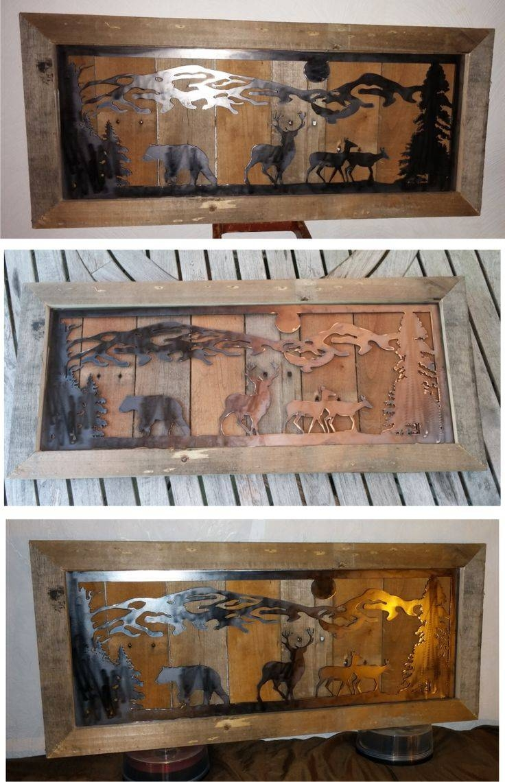 39 Best Metal Images On Pinterest | Plasma Cutting, Metal Projects Throughout Most Current Western Metal Art Silhouettes (View 1 of 30)