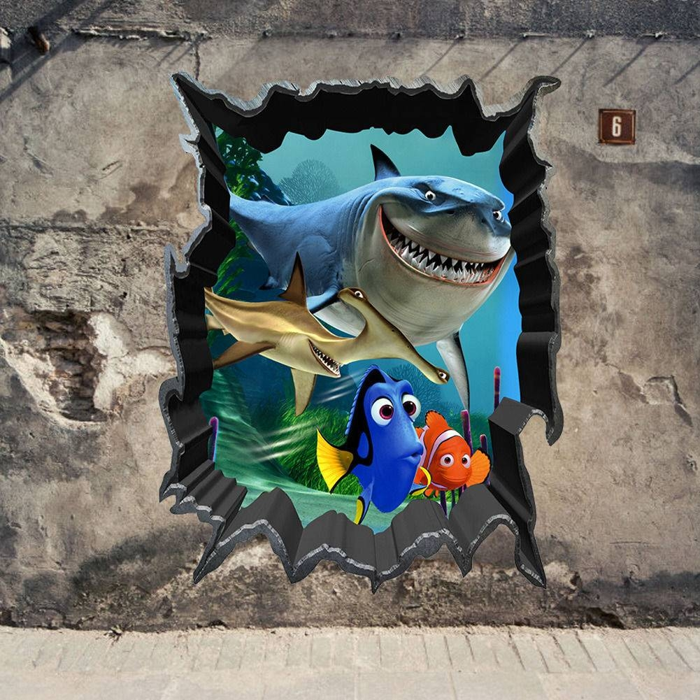 3D Art Wall – Wall Murals Ideas Pertaining To Recent Fish 3D Wall Art (Gallery 1 of 20)