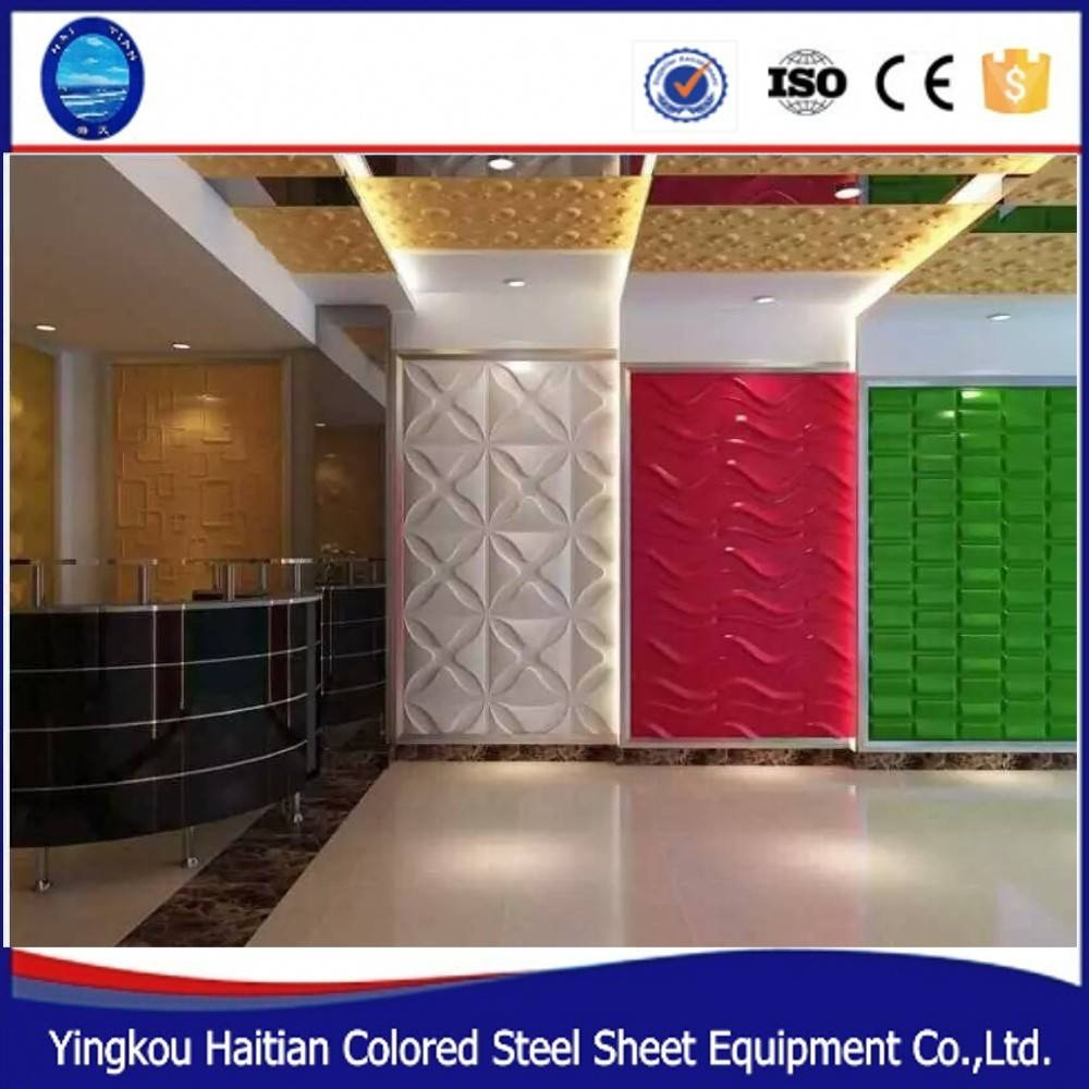 2019 Popular 3d Plastic Wall Panels