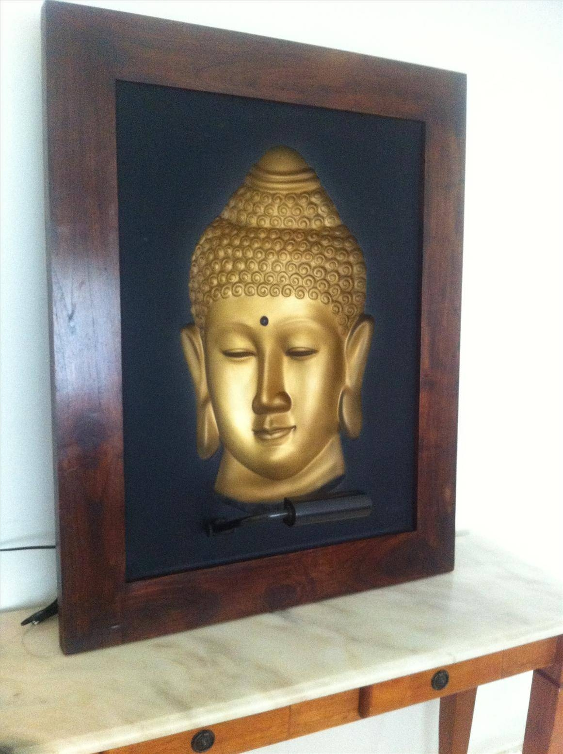 Featured Photo of 3D Buddha Wall Art