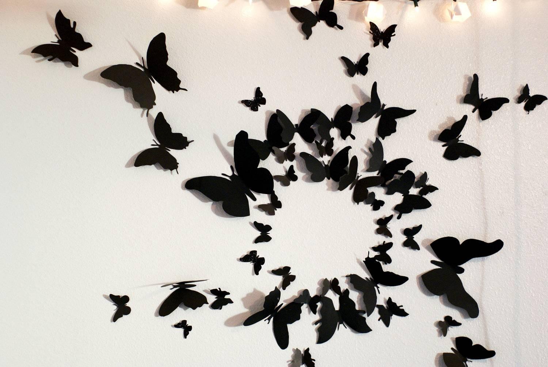 3D Butterfly Wall Art South Africa | Wallartideas Within Latest South Africa Wall Art 3D (Gallery 7 of 20)