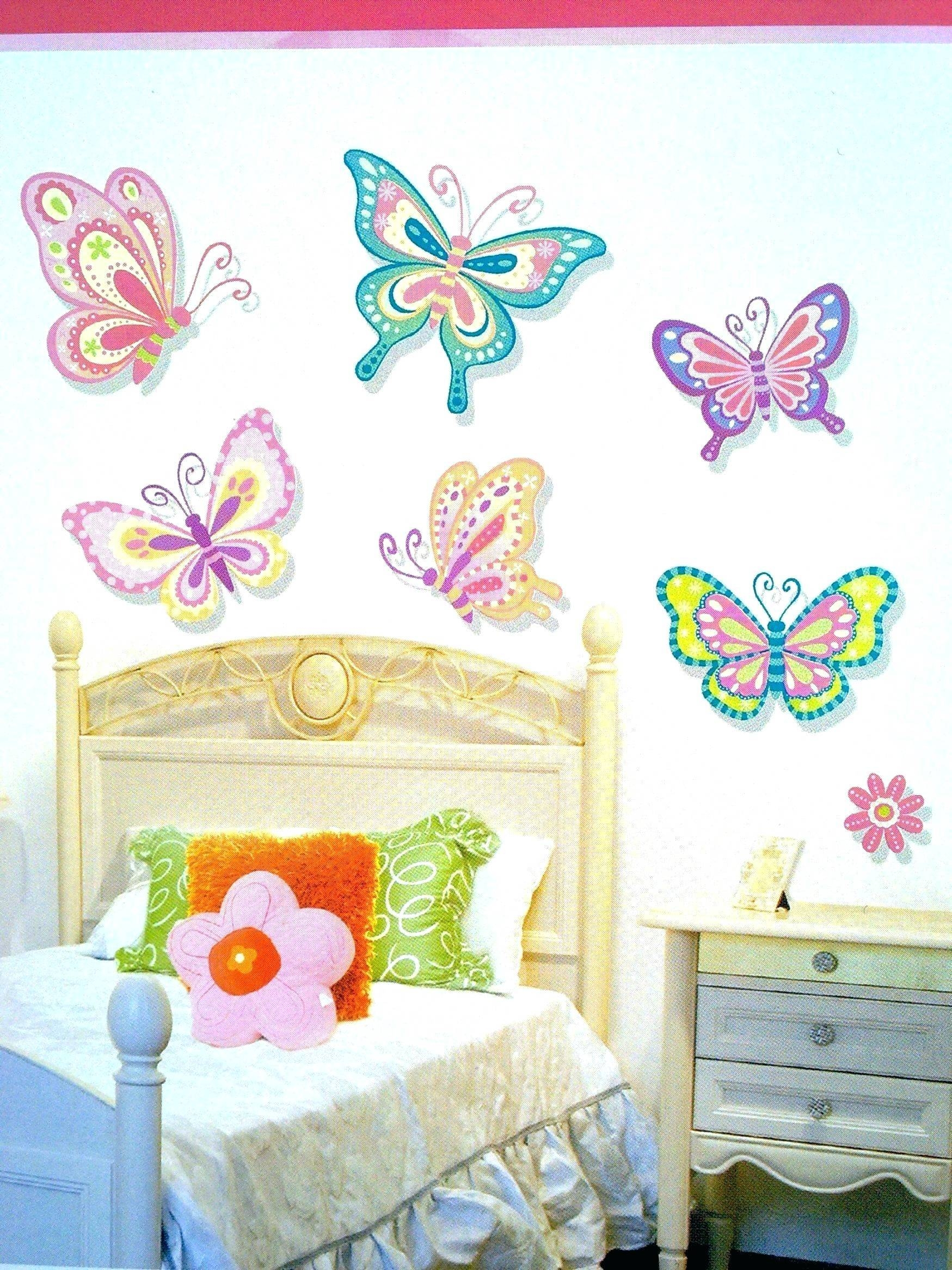 3D Butterfly Wall Decal Stickers Picture More Detailed Picture Regarding Most Current White 3D Butterfly Wall Art (View 7 of 20)