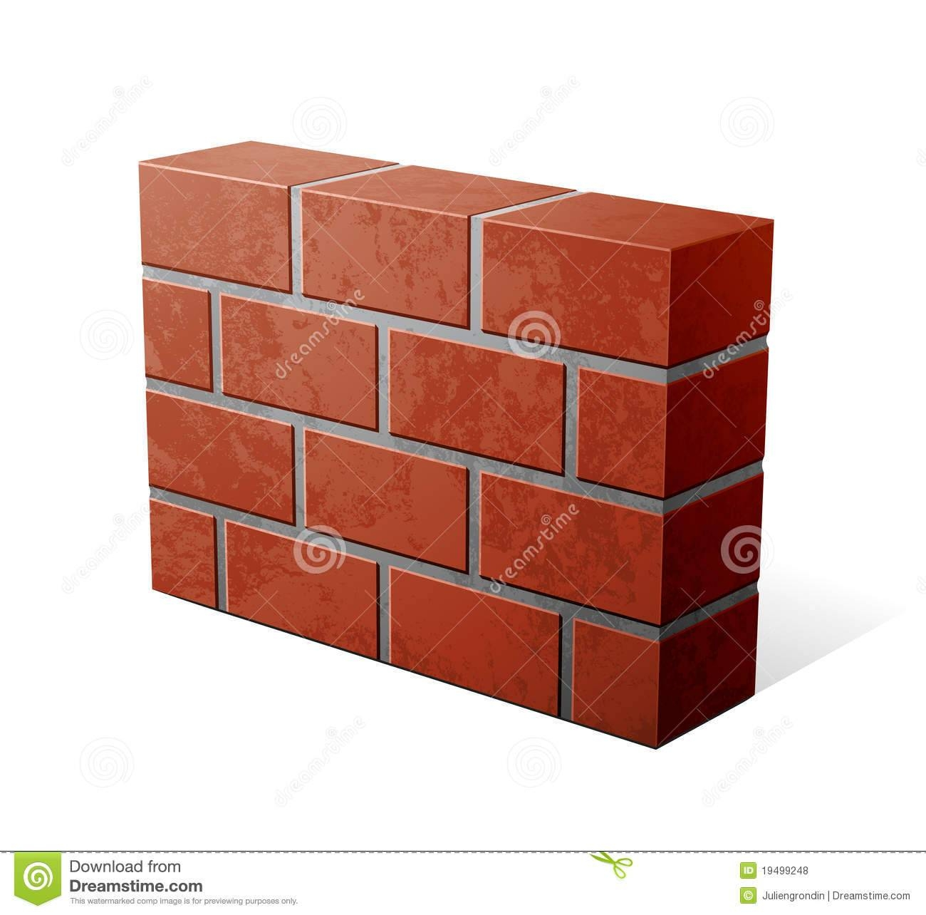3D Clipart Brick Wall - Pencil And In Color 3D Clipart Brick Wall regarding Most Up-to-Date 3D Brick Wall Art