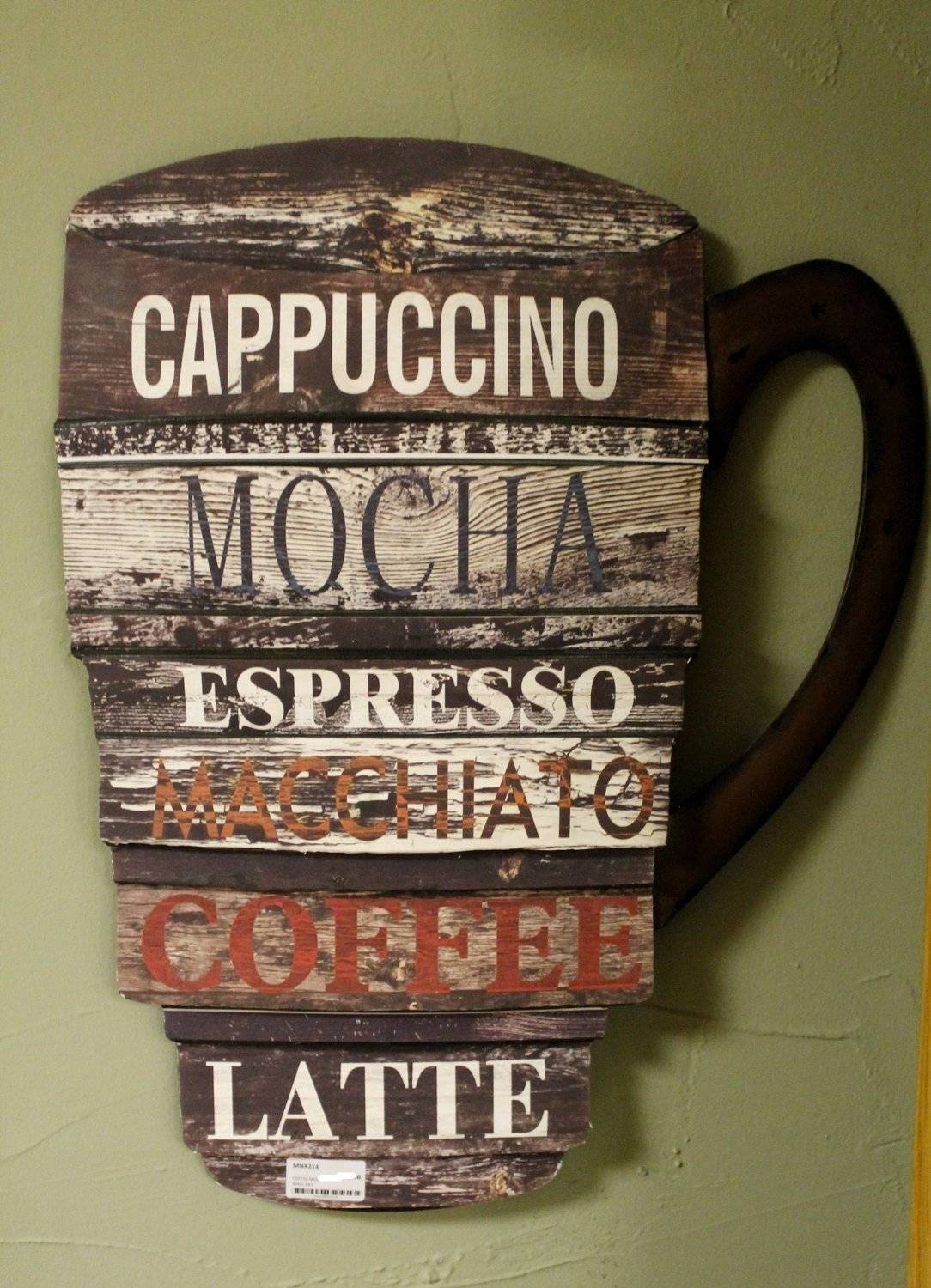 3D Coffee Cup Wall Art – Wall Murals Ideas For Current Cafe Latte Kitchen Wall Art (View 2 of 30)