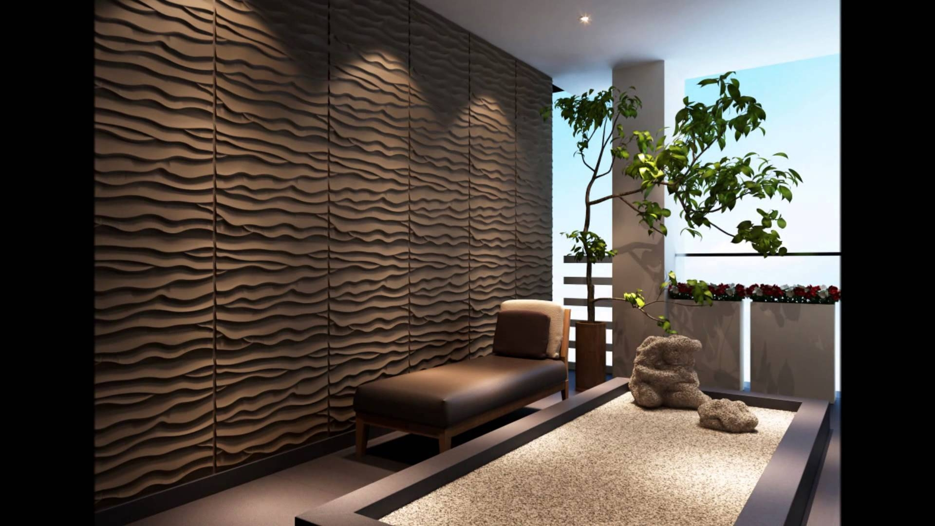 3D Contemporary Wall Panels Custom Wall Panelling Designs – Home Pertaining To 2018 Contemporary 3D Wall Art (View 8 of 20)