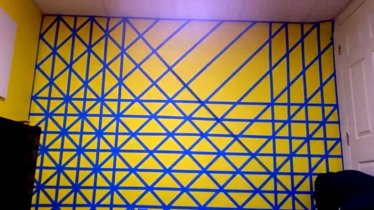 3D Cubes – Wall Painting Time Lapse – Youtube With Regard To Most Popular Cubes 3D Wall Art (View 4 of 20)