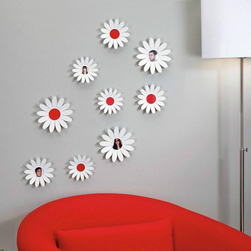 3D Flower Wall Art Umbra | Wallartideas For Most Popular 3D Flower Wall Art (View 1 of 20)
