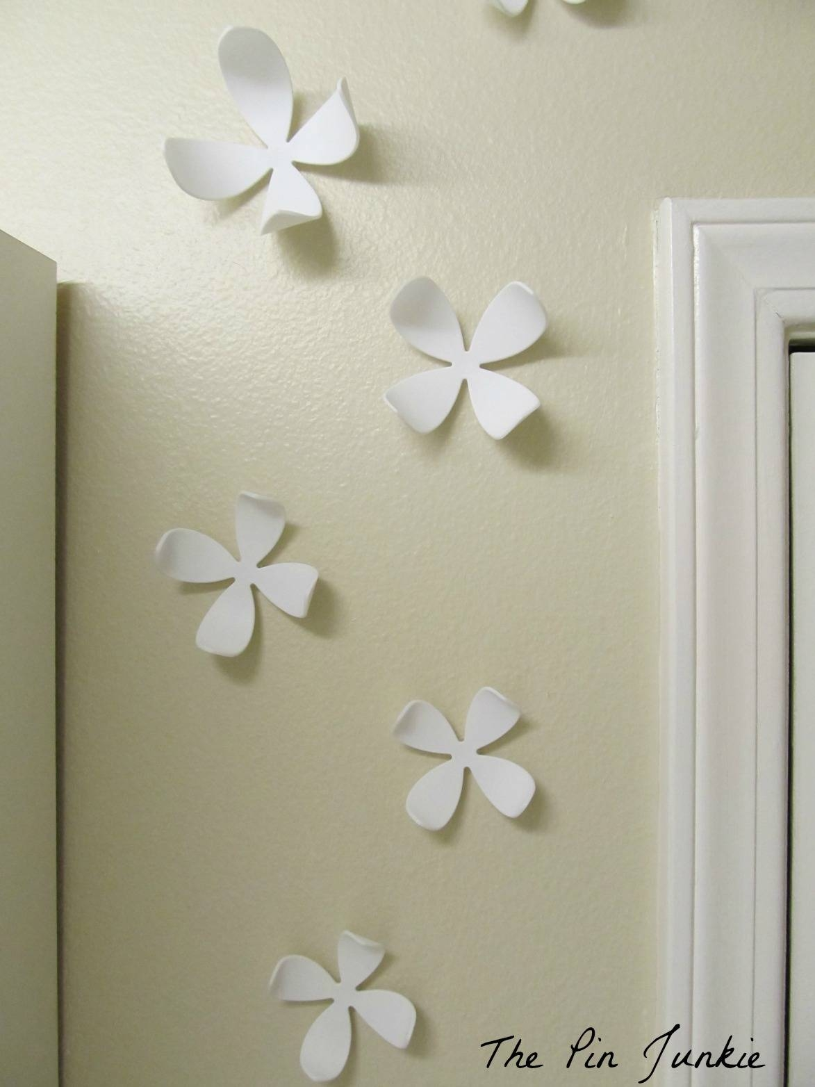 3D Flower Wall Art Umbra | Wallartideas Inside Best And Newest Umbra 3D  Flower Wall Art