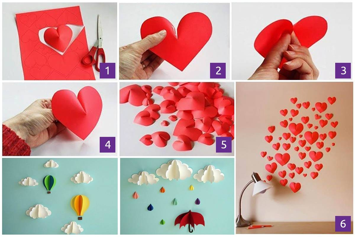 3D Paper Wall Art Diy | Wallartideas For Best And Newest 3D Paper Wall Art (View 7 of 25)