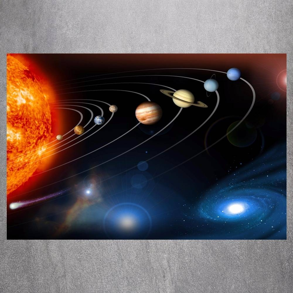 3d Solar System Wall Art Decor | Wallartideas Regarding Most Recent 3d Solar System Wall Art Decor (View 3 of 20)