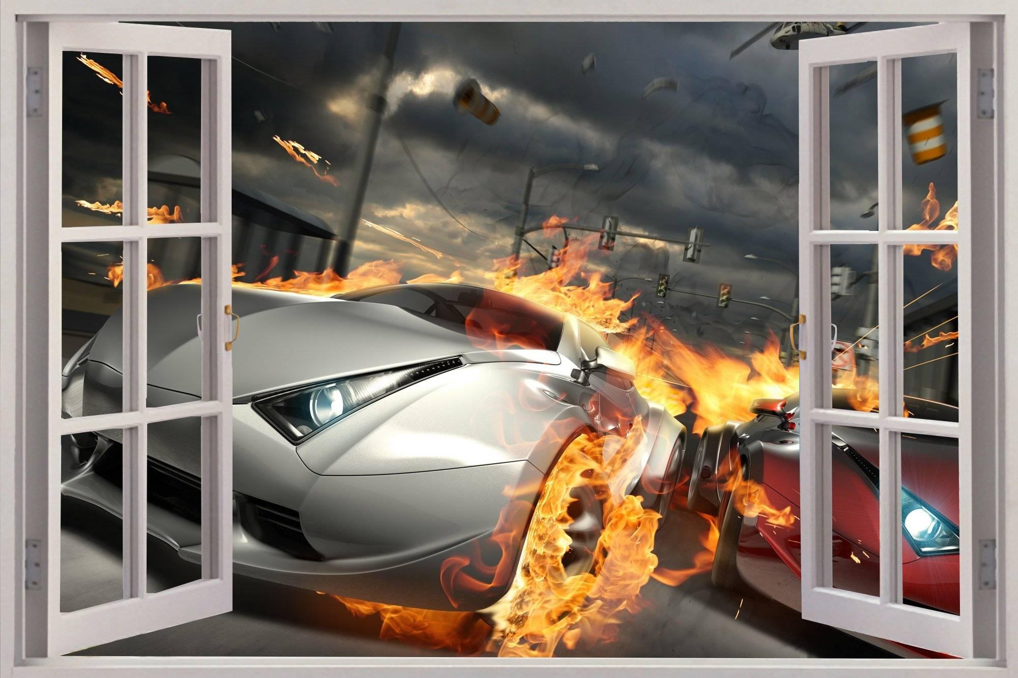 3D Wall Art Cars | Wallartideas For Most Recent Cars 3D Wall Art (Gallery 2 of 20)
