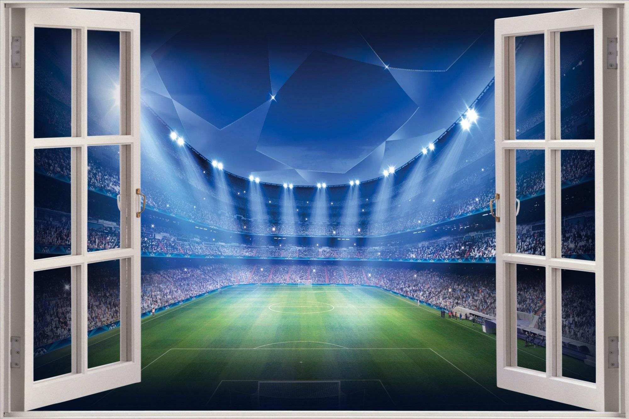 3D Wall Art Football | Wallartideas In 2018 3D Stadium View Wall Art (View 1 of 20)