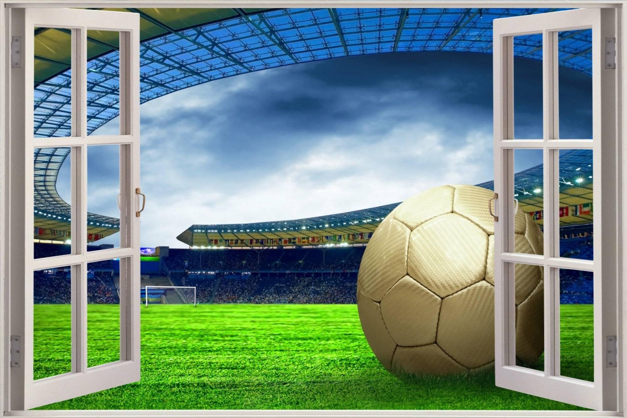 3D Wall Art Football | Wallartideas Throughout Recent 3D Stadium View Wall Art (View 2 of 20)