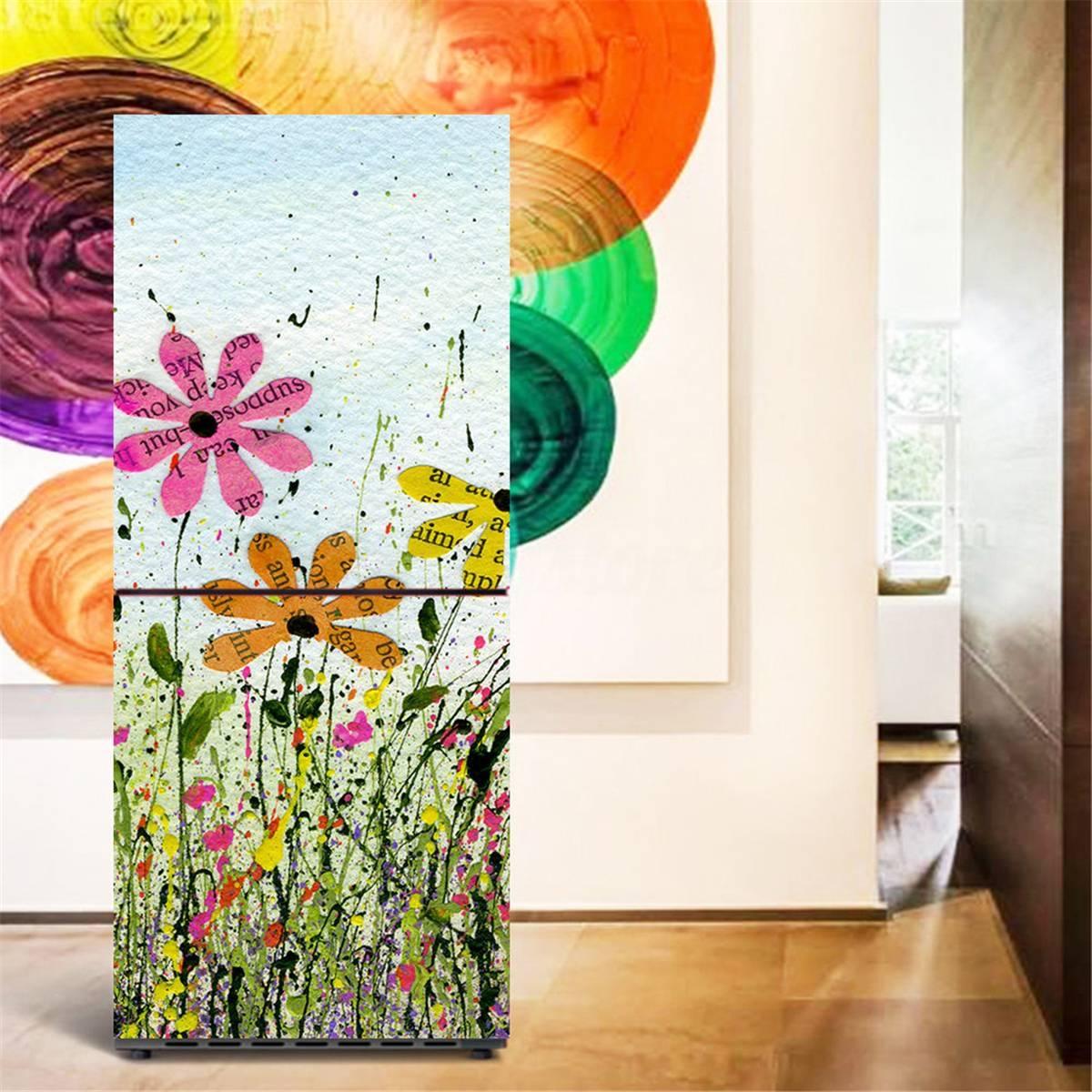 3D Wall Art Sticker Vinyl Decal Self Adhesive Door Fridge Wrap Inside Best And Newest Vinyl 3D Wall Art (Gallery 9 of 20)