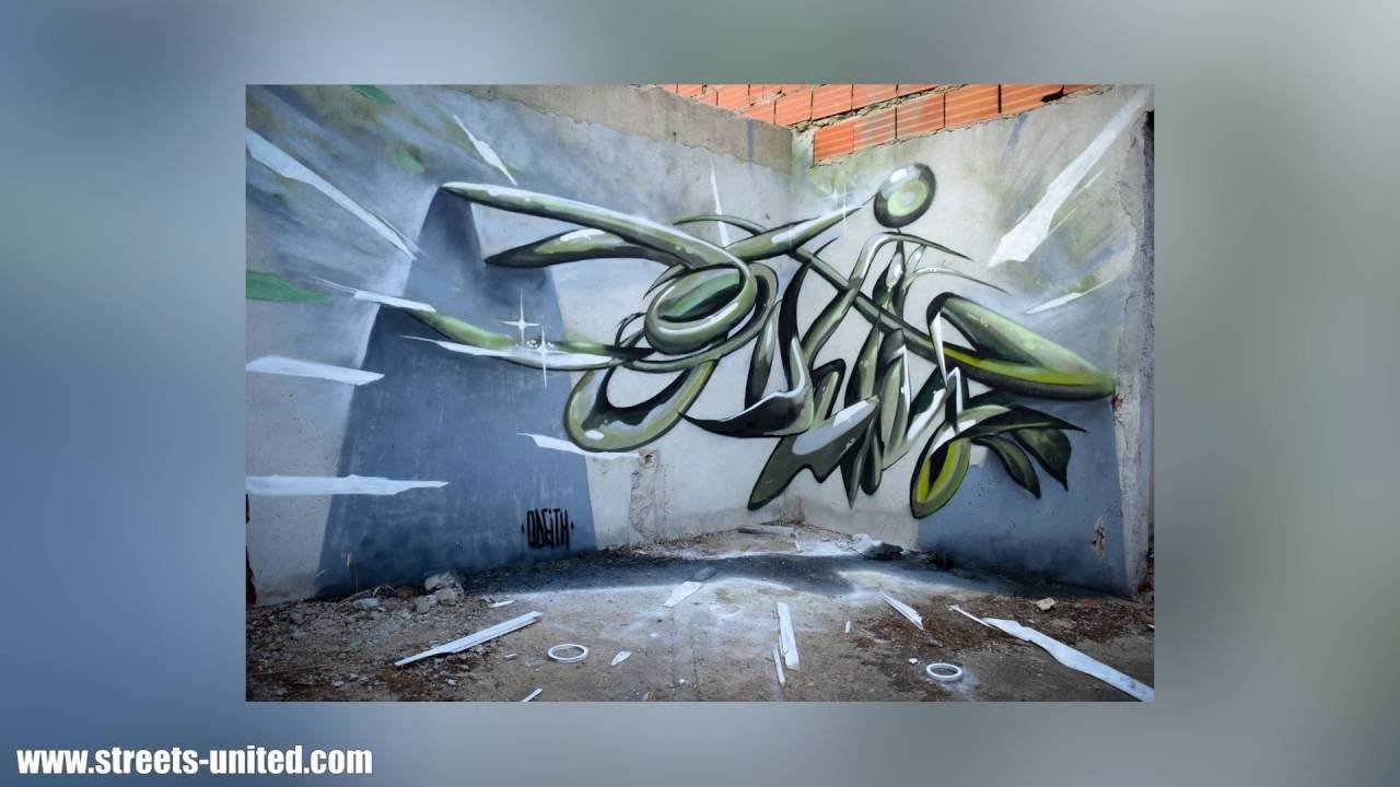3D Wall Artwork – Youtube Within Most Up To Date 3D Visual Wall Art (Gallery 9 of 20)