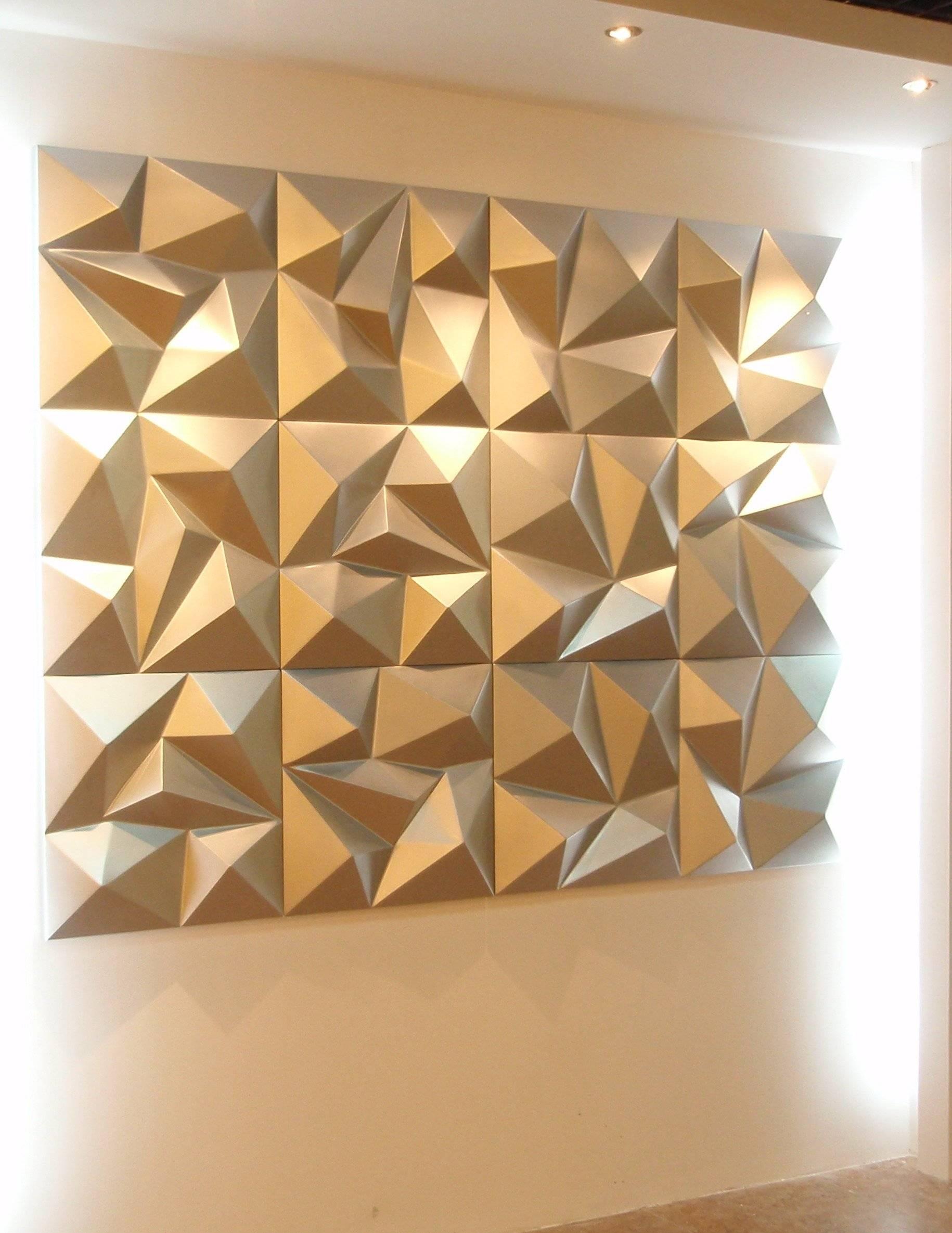 3D Wall Decor Panels – Home Design Throughout Most Current 3D Modern Wall Art (Gallery 10 of 20)