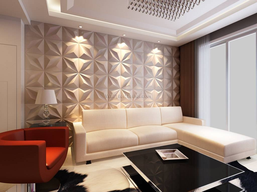 3D Wall Panels For Home Best House Design : Contemporary 3D Wall Intended For Most Up To Date 3D Wall Covering Panels (View 5 of 20)