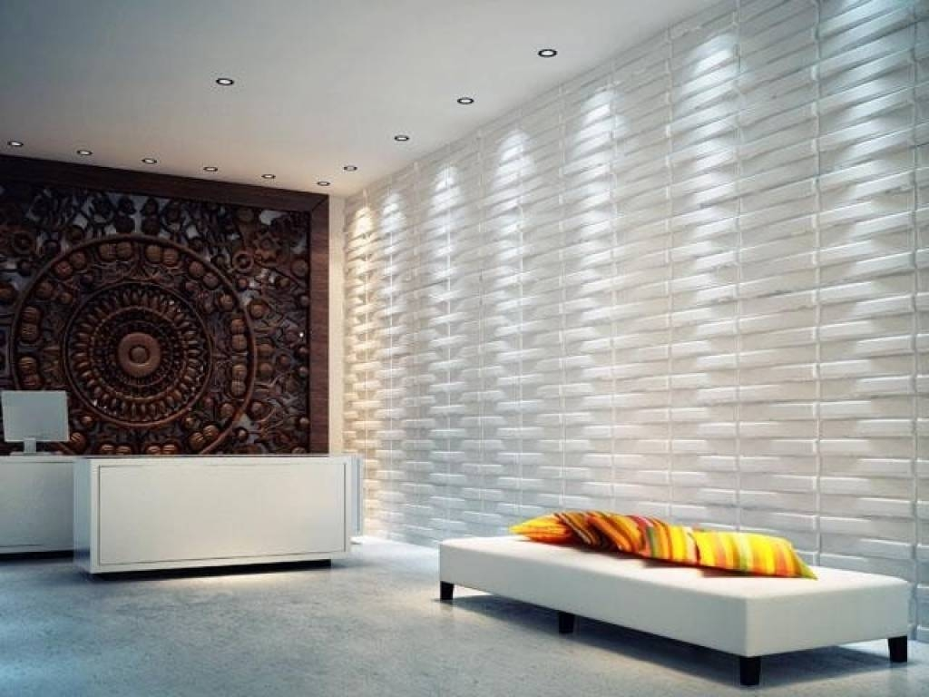 3D Wall Panels(Brick) Modern Wall Panels Vancouver 3D Wall Decor Inside Most Recently Released Vancouver 3D Wall Art (Gallery 5 of 20)