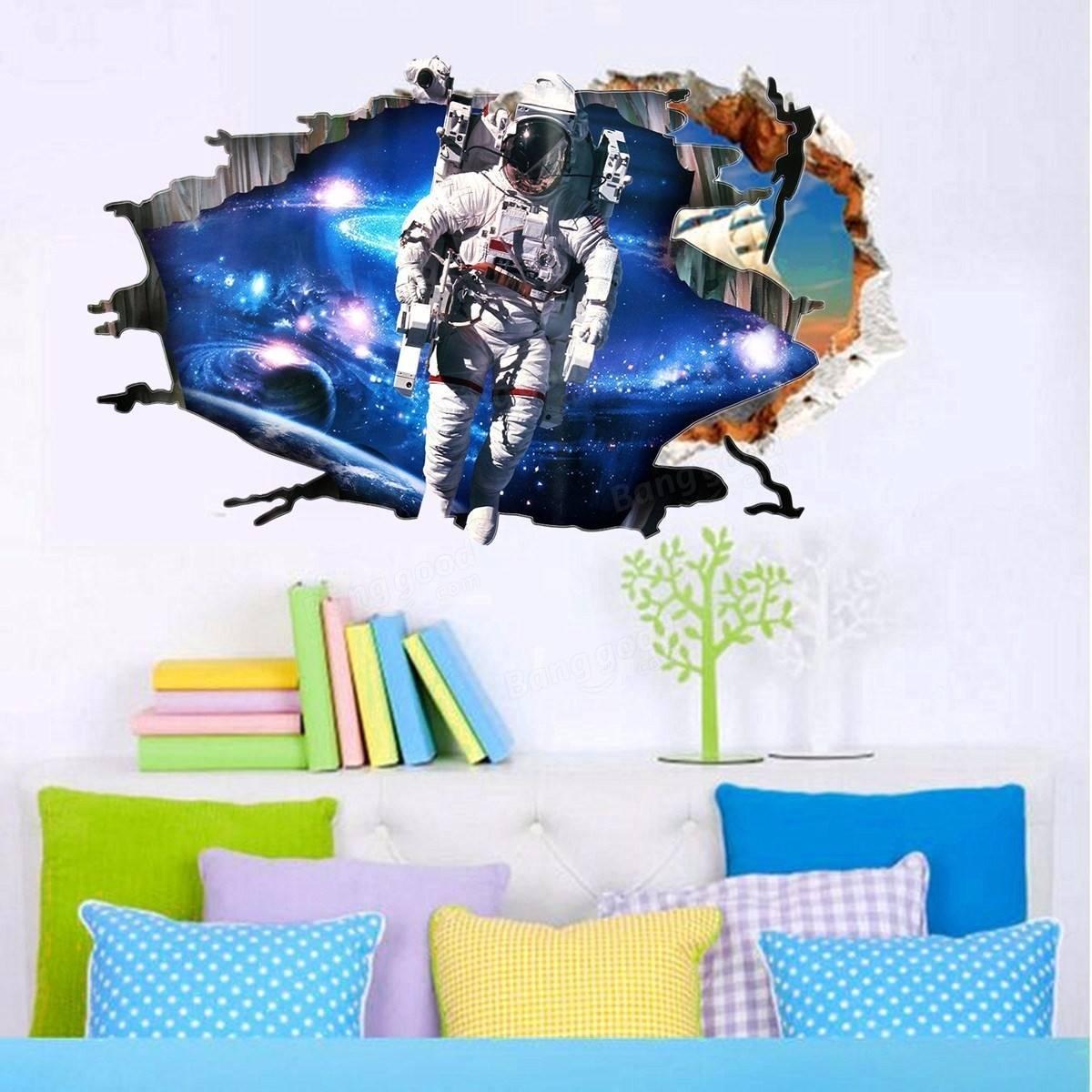 Top 20 Of Astronaut 3d Wall Art