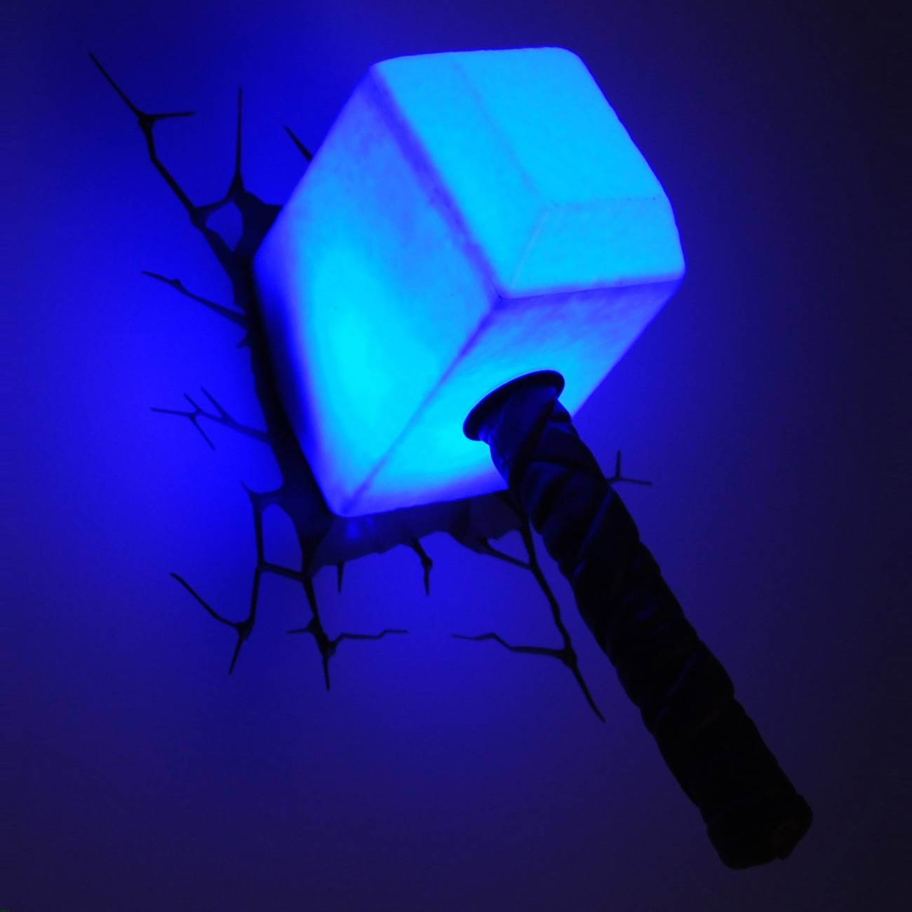 3dlightfx Launches The New Avengers Thor Hammer Collectable 3d With Most Current 3d Wall Art Thor Hammer Night Light (View 6 of 20)